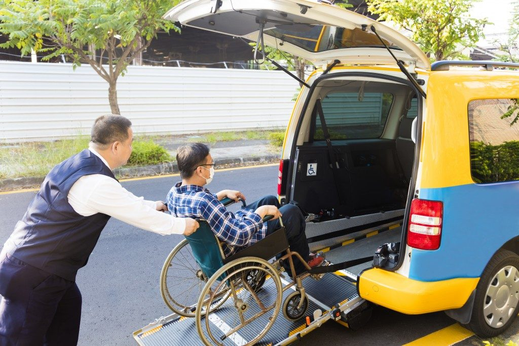 wheelchair friendly vehicle